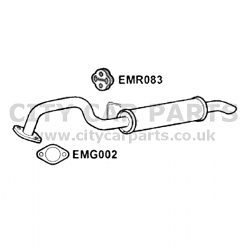 KIA SORENTO DIESEL 2.5 ATV/SUV MODELS 12/2003 TO 10/2006 EXHAUST REAR BOX EXKA6008